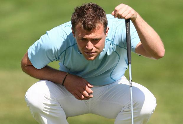 Golfer Cian Curley is trying to carve out a career for himself on the world's top professional tours