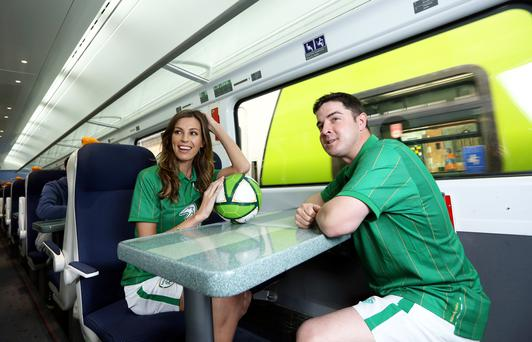 Irish Rail wants to be able to sell match tickets alongside train tickets as part of its infrastructure upgrade
