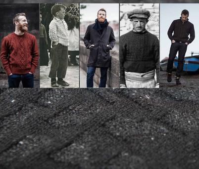 Inis Meain Knitting specialises in traditional knitwear