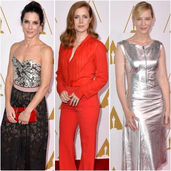 Sandra Bullock, Amy Adams and Cate Blanchett led the style stakes