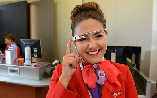 Virgin staff to trial Google glass