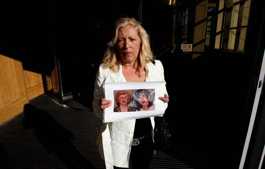 Antoinette Keegan at the Stardust inquiry, her two sisters Mary and Martina perished in the fire