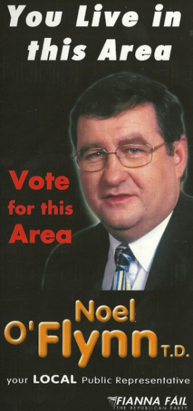 Noel O'Flynn 2002 General Election slogan