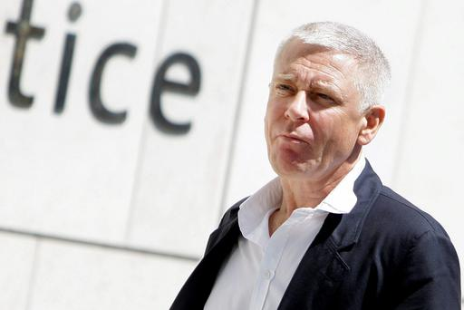 Adam Clayton during the trial of former PA and housekeeper Carol Hawkins. Picture: Courtpix