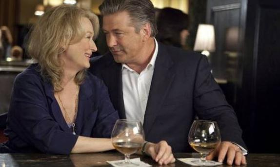 Alec Baldwin is up for a Bafta supporting actor gong for his role in 'It's Complicated' - starring Meryl Streep