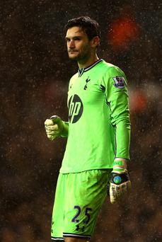 Hugo Lloris of Tottenham Hotspur