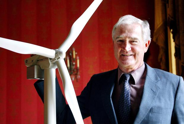 Eddie O'Connor, boss of Mainstream Renewable Power