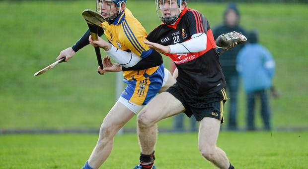 Shane O'Donnell (R) scored a goal for UCC