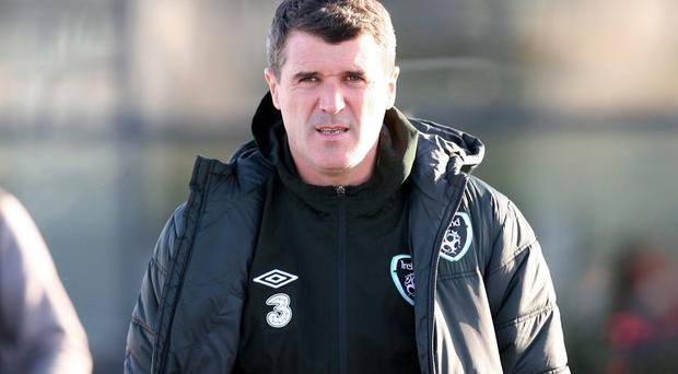 Roy Keane doesn't appear to be a selfie fan.