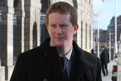 Aidan Brady, son of the late Eileen Brady. Picture: Collins