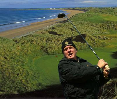 Doonbeg Resort, which has been bought by Donald Trump