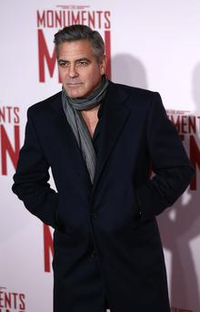 George Clooney attends the UK Premiere of