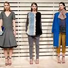 Models pose at the J.Crew presentation during Mercedes-Benz Fashion Week Fall 2014 at The Pavilion at Lincoln Center