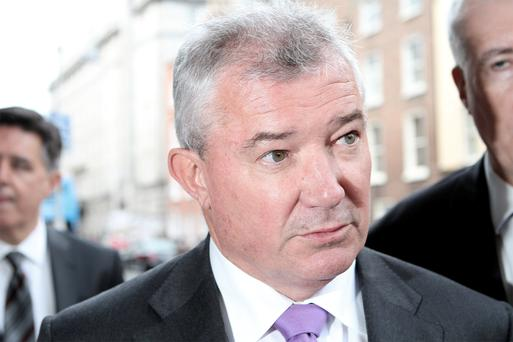 Richie Boucher: banks must never be a threat again.