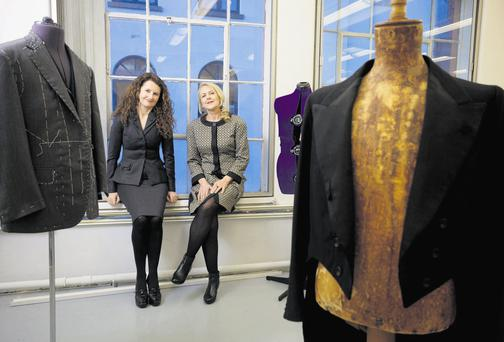 Liz Quin and Annmarie Flood have been named as lead lecturers at Ireland' National Tailoring Academy