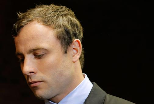 Oscar Pistorius says he is 'consumed' by grief.