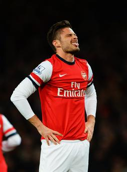 Olivier Giroud has publicly pleaded for forgiveness.