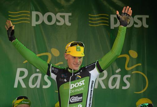 Ireland's Sam Bennett recorded the first victory of his professional career at the Clasica de Almeria in Spain
