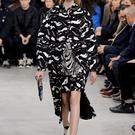 A model walks the runway at the Proenza Schouler fashion show during Mercedes-Benz Fashion Week Fall 2014 on February 12, 2014 in New York City. (Photo by Neilson Barnard/Getty Images)