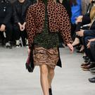 A model walks the runway at the Proenza Schouler fashion show during Mercedes-Benz Fashion Week Fall 2014