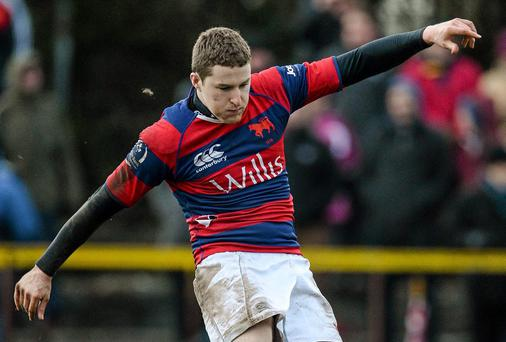 David Joyce of Clontarf landed a late penalty for Ireland Clubs