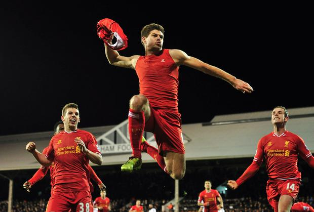 Liverpool's Steven Gerrard says his are dark horses in the title race