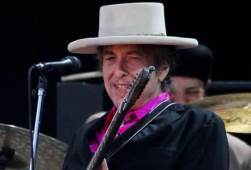 Bob Dylan. Picture: Gareth Fuller/PA Wire