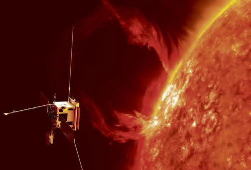 An artist's impression of the Solar Orbiter