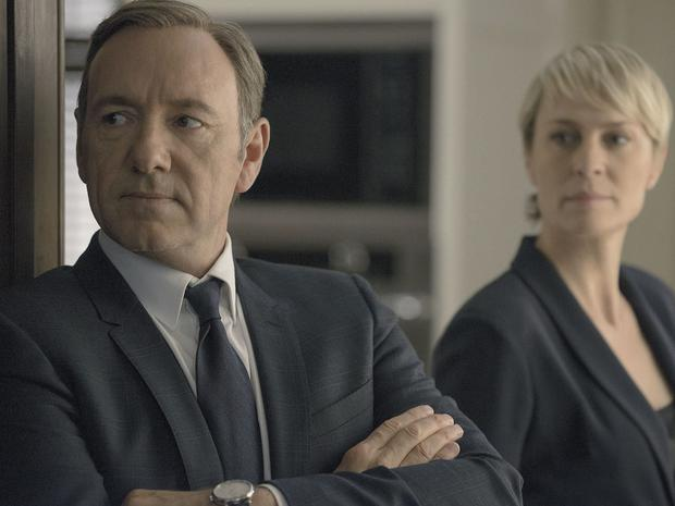 Kevin Spacey and Robin Penn