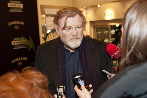 Brendan Gleeson at the Jameson Dublin International Film Festival opening night