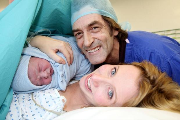 Aisling McLoughlin, Nick MacInnes and baby Louis