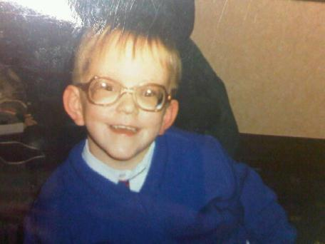 """From the age of two, I was given a set of glasses and that was that"""