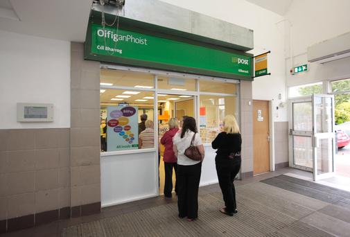 Savers have been encouraged to move their savings to a post office. Photo: Collins