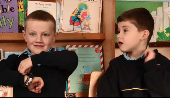 Kids from St Patrick's Boys school in Ringsend discuss Valentine's Day