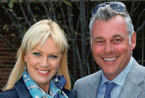 Alison Campbell and Darren Clarke