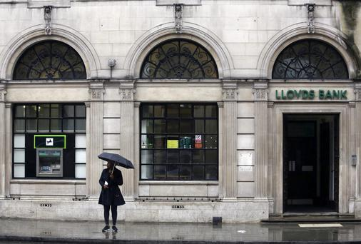 A Lloyds Bank branch in London.