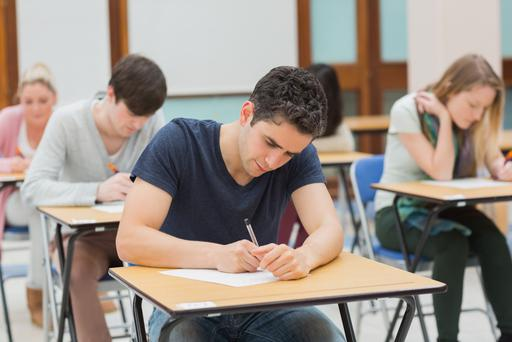 The second Junior Cert exam of the day was materials technology (wood)