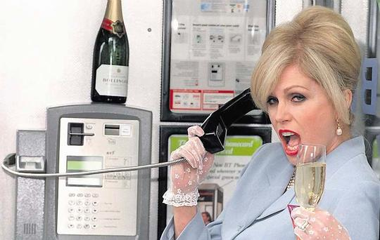 BREAKING THE RULES: Patsy from 'Absolutely Fabulous' is an extreme example of someone who needs guiding in the right direction