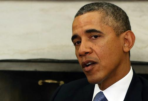 President Barack Obama discussed the situation by telephone with German Chancellor Angela Merkel, the White House said.