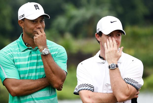 Both Tiger Woods and Rory McIlroy both missed the WGC Champions Tournament in October last year to play in an exhibition in Haikou, China