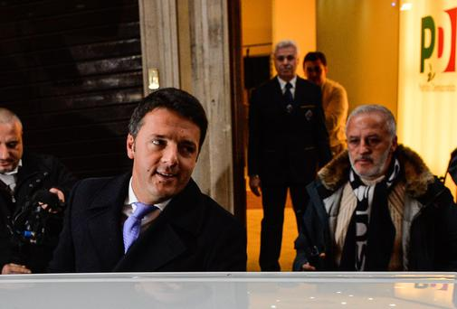 Mayor of Florence Matteo Renzi is set to become Italy's youngest-ever prime minister
