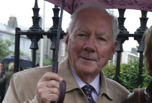 Gay Byrne Picture: Damien Eagers