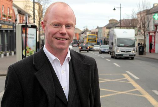 Stephen Donnelly TD pictured in Bray Co. Wicklow Picture: Gerry Mooney