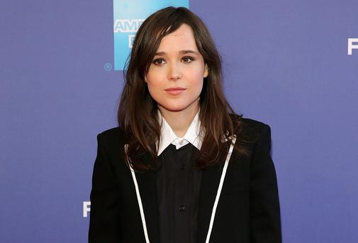 FILE - FEBRUARY 14: Actress Ellen Page has come out as a gay woman. She made the announcement in Las Vegas at the Human Rights Campaign's THRIVE conference. NEW YORK, NY - APRIL 27: Actress Ellen Page attends Tribeca Talks: After the Movie