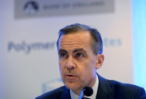 Mark Carney: the Bank of England governor is cautious