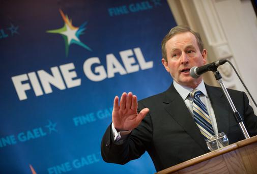 In his stongest remarks yet on his participation, Mr Kenny said the parade is about 'Irishness' and not sexuality.