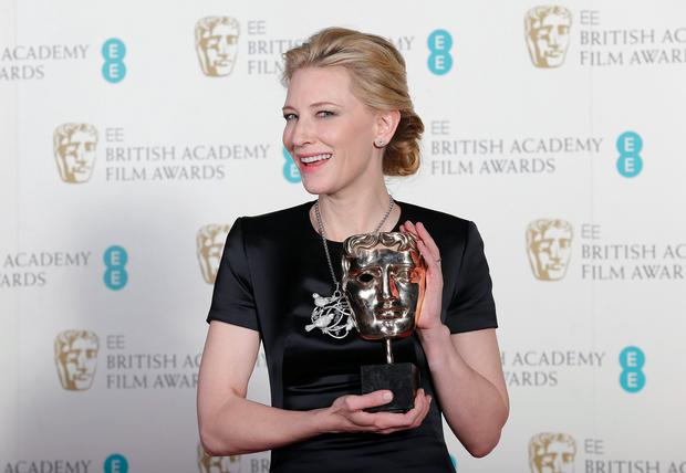 Cate Blanchett celebrates winning Best Actress for