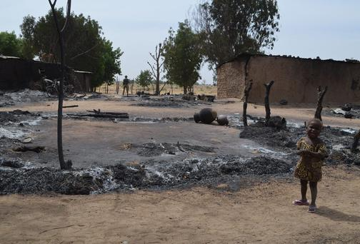 The banned Islamist militant group Boko Haram was suspected to have carried out earlier attacks in northeast Nigeria last week