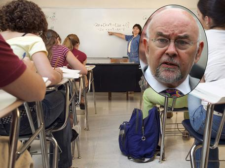 Schools face shortage of teachers as student levels soar, inset, Minister for Education Ruairi Quinn
