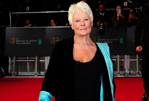 Dame Judi Dench lost out to Cate Blanchett